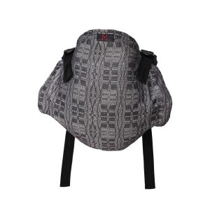 Black and white onbhimo baby carrier